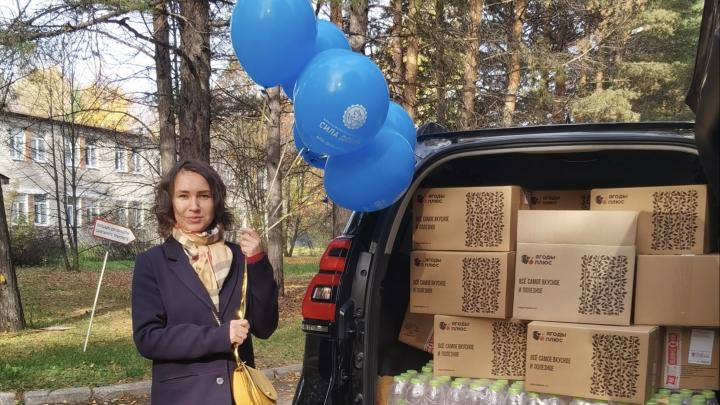 «Газпром энергосбыт Тюмень» и фонд «Сила добра» поблагодарили врачей за их труд во время пандемии