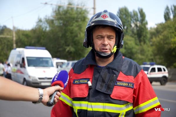 Николай Любавин заявил о четырех пострадавших пожарных