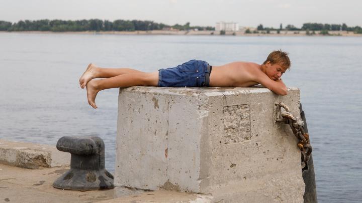 В Волгоградской области ожидаются сильный ветер и жара +33 ºC