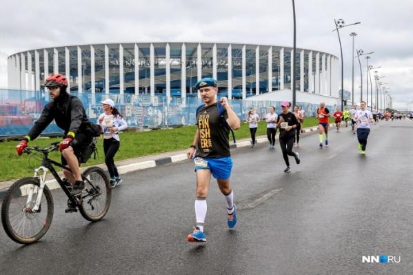 В Нижнем Новгороде приняли участие в забеге более 4 тысяч человек