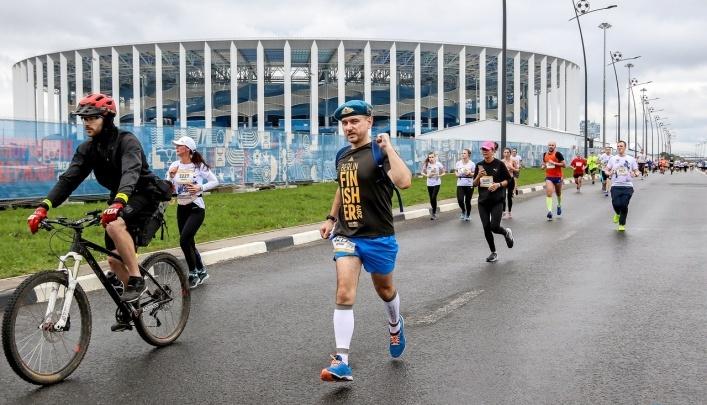 Нижний Новгород стал «Беговой столицей» России после полумарафона «Беги, герой»
