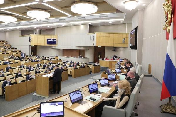 Законопроекты во втором чтении в Госдуме рассмотрят 9 декабря