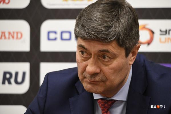 Мартемьянов поставил оценку «неудовлетворительно» тому, как его подопечные провели сезон