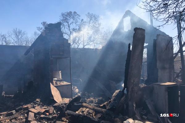 В поселке Замчалово сгорело больше 20 домов, пострадали 8 семей