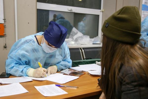 За сутки в Свердловской области выявили семь больных коронавирусом