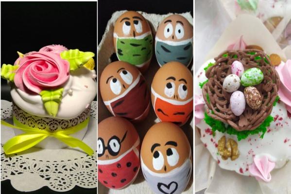 Ярославны напекли красивых куличей и оригинально расписали яйца