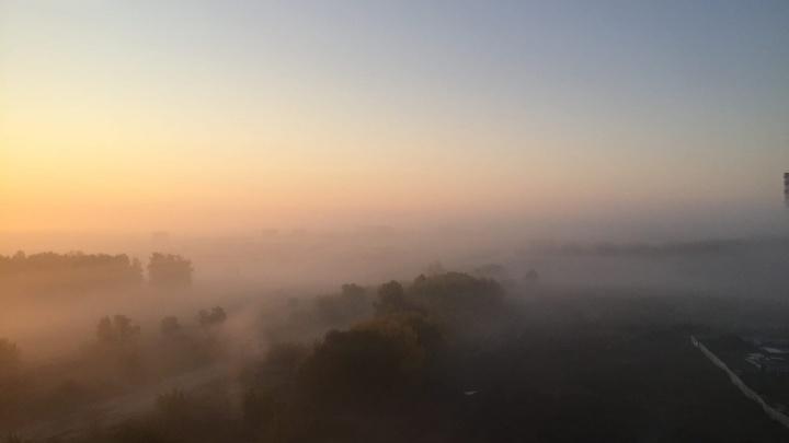 В Кемерово объявили режим «черного неба». В воздухе будет много вредных примесей
