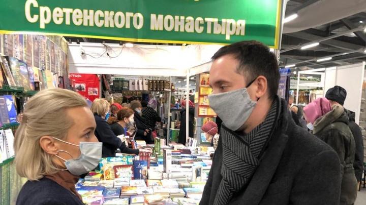 «Это не самое опасное место»: Мелик-Гусейнов съездил на православную ярмарку после статьи NN.RU