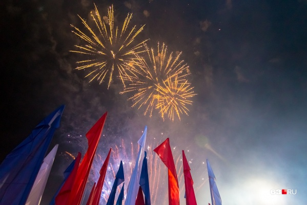 Салют в Самаре устраивали каждый Новый год