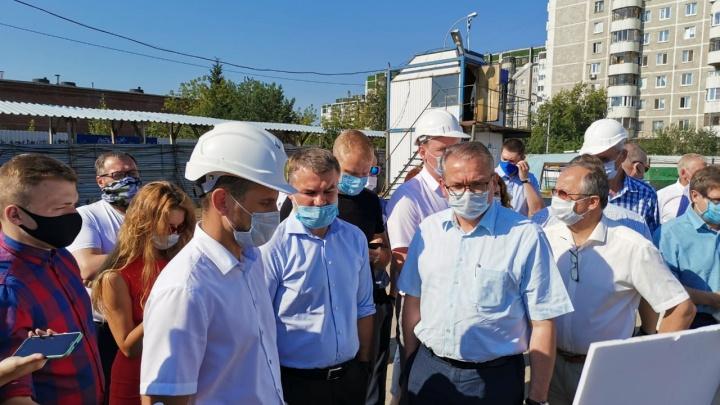 Движение под мостом на Щербакова ограничат из-за реконструкции дороги к «золотому» автовокзалу