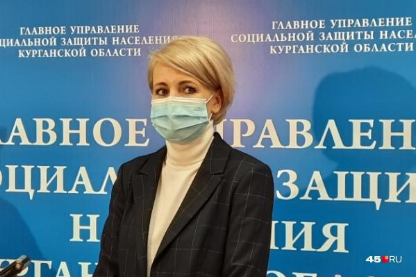 В должности замначальника управления соцзащиты региона Анастасия Золотухина работала с февраля