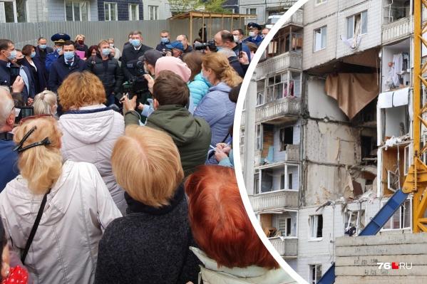 Жильцамдесятиэтажки на Батова объявили о предстоящем сносе их дома
