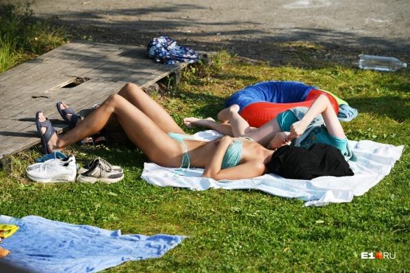 В Екатеринбурге аномальная жара