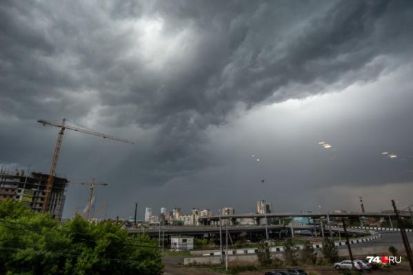 По данным синоптиков, в отдельных районах Челябинской области будут греметь грозы и возможны дожди