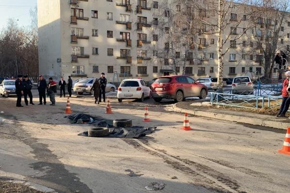 ДТП произошло на улице Викулова