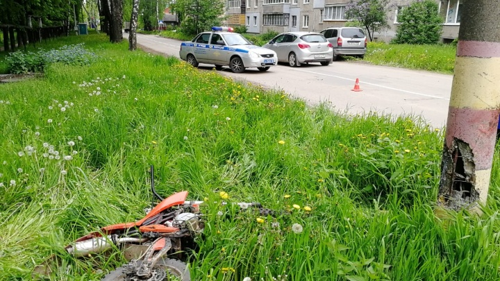 15-летний мотоциклист погиб в Кстове