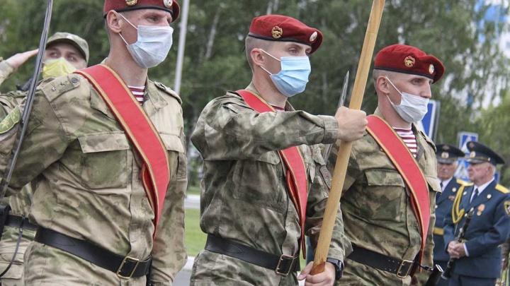 В Минобороны рассказали, как защитят кузбасских военных от COVID-19 во время парада Победы