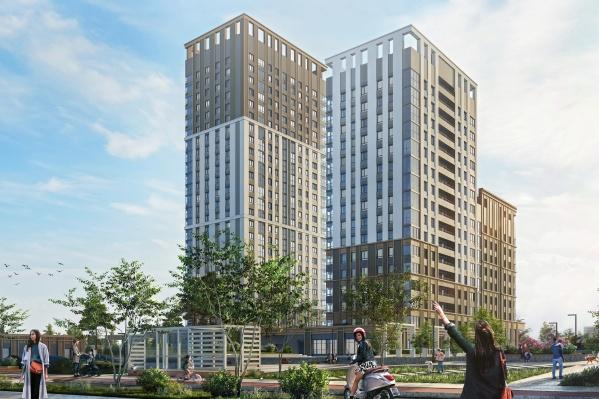 Жилой квартал «SMART City» будет состоять из трёх домов