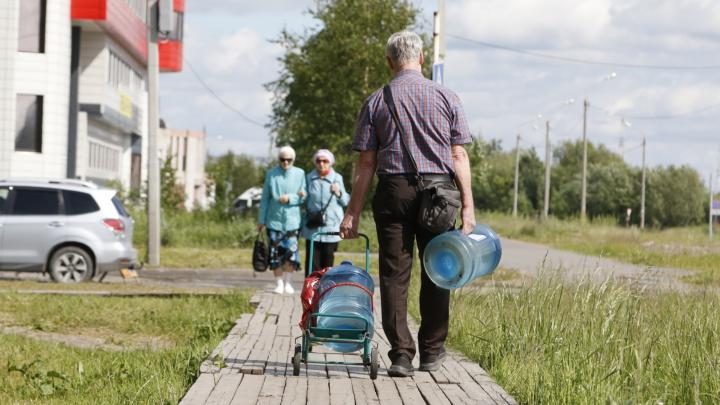 Прокуратура проверит законность выдачи талонов на подвоз питьевой воды в районах Архангельска