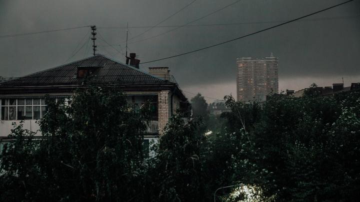 Дождь и ураганный ветер: синоптики объявили штормовое предупреждение в Тюменской области