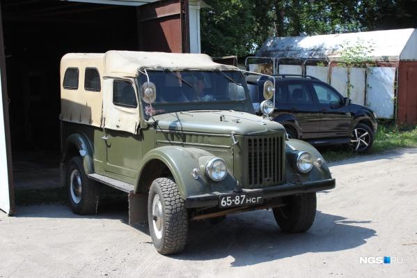 Так выглядит этот ГАЗ-69 спустя полвека
