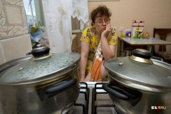 Жителям АМЗ не повезло остаться без горячей воды во время осенних холодов