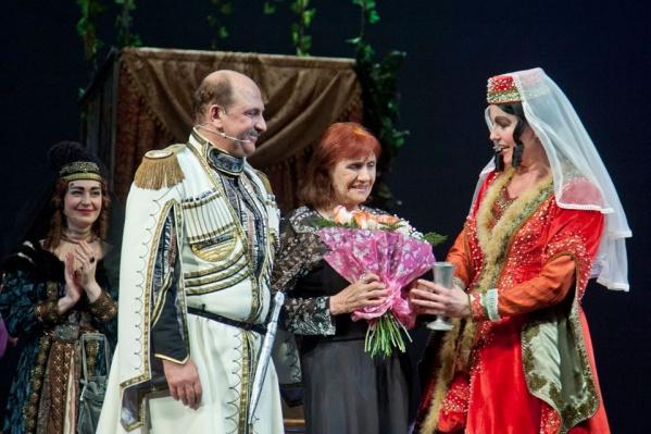 Прощальный вечер Екатерины Ляховой в 2013 году