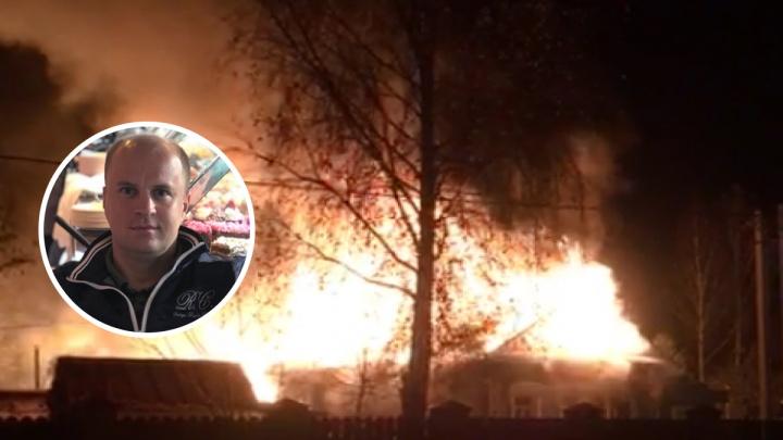 «Кричали, что ребёнок сгорел»: многодетный отец вытащил из огня 11-летнего мальчика. Видео