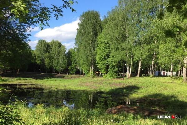 Жилой район находится совсем рядом с парком «Волна»