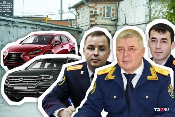 Изменения в личном автопарке произошли только у руководителя регионального Следственного комитета Александра Кублякова (на фото в центре)
