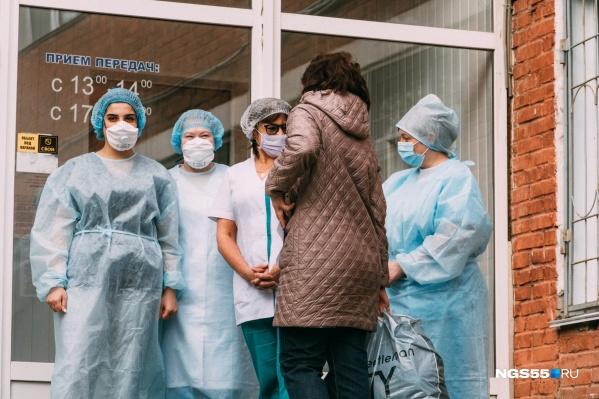 Выздоровевших выписали из больниц