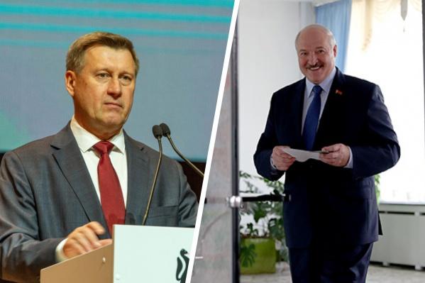 Локоть пожелал Лукашенко здоровья, а белорусам — процветания