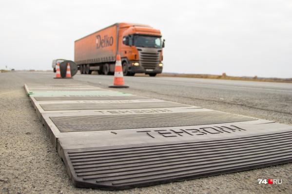Из-за ремонта ограничили движение на участке трассы около Юрюзани