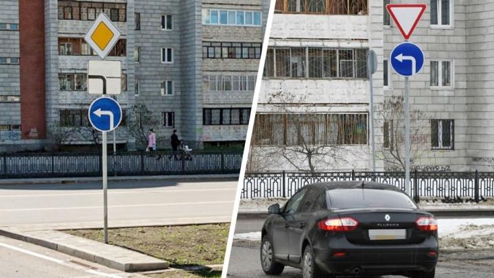 На Татищева изменили схему движения, чтобы водители перестали мешать трамваям