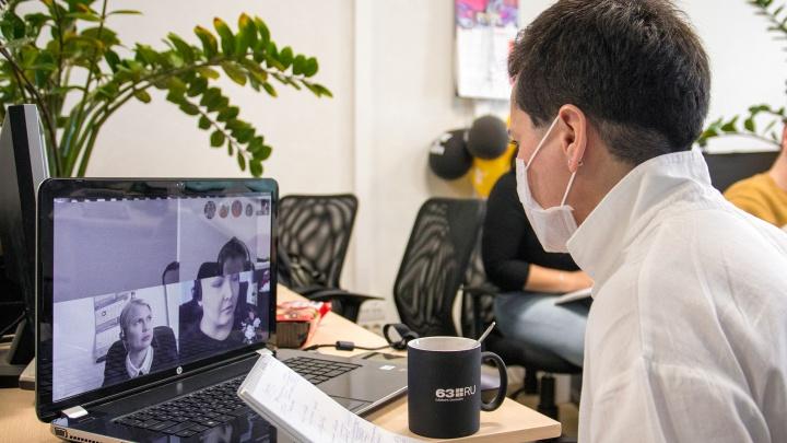 В Самарской области выросла заболеваемость коронавирусом среди офисных работников