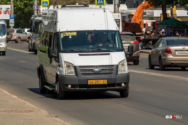 96-й автобус теперь заезжает к «Самара Арене»