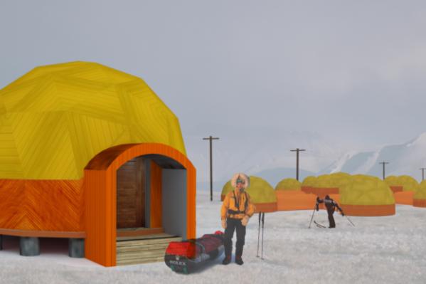 Один из проектов для Арктики выглядит так