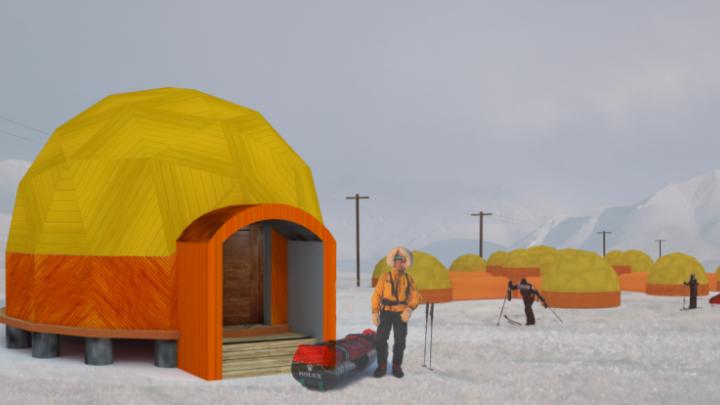 Дизайнеры и архитекторы спроектировали необычные экодома: такие могут появиться в нацпарках Поморья