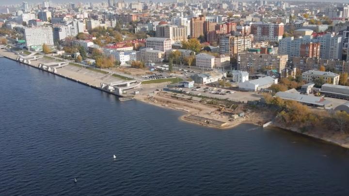 Новый пассажирский причал на берегу Волги в Самаре будет многоуровневым