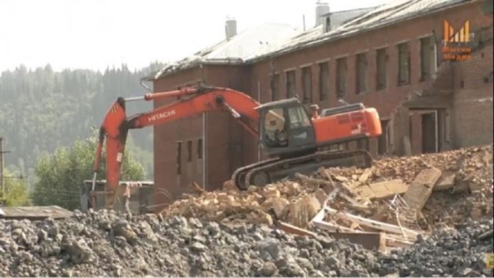 Власти Кузбасса начали демонтаж школы, где при капремонте рухнула стена