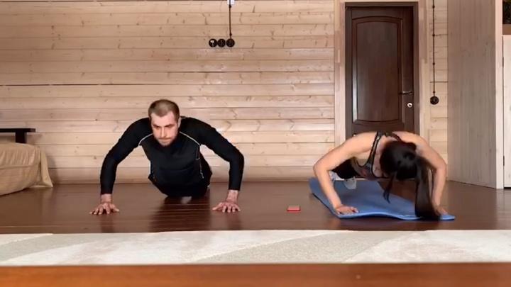 Двойной удар. Как челябинские олимпийцы поддерживают спортивную форму на самоизоляции (изощрённо)