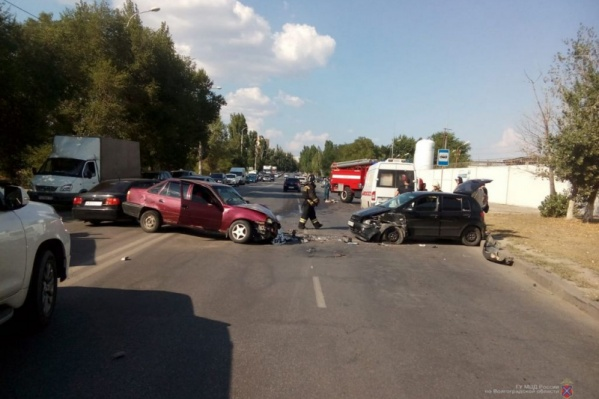 Аварию спровоцировал водитель со стажем вождения в месяц