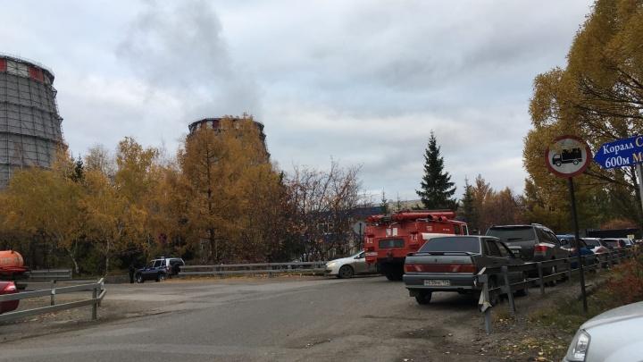 На омской ТЭЦ-5 прошла эвакуация