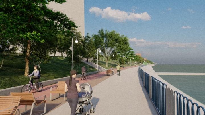 Реконструкция набережной в Закамске начнется в 2022 году