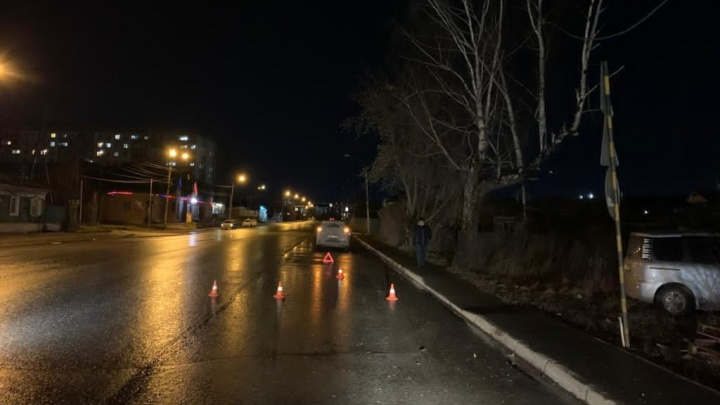 Сибирячка на Hyundai Creta насмерть сбила пешехода на улице Героев Революции