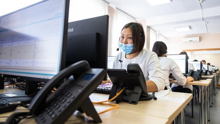 В Самаре открыли кол-центр, который помогает пациентам с ОРВИ и COVID-19