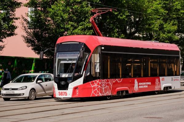 Парк транспорта пополнился трамваями «Львёнок»