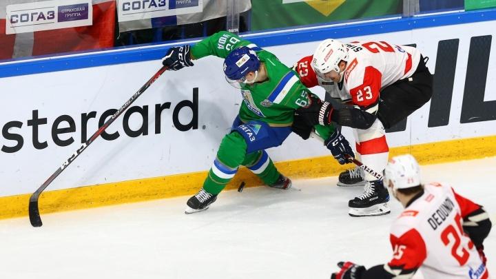 «Авангард» разгромил «Салават Юлаев» и сравнял счёт в серии