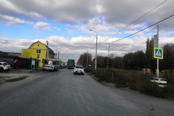 Фото с места происшествия предоставили в полиции