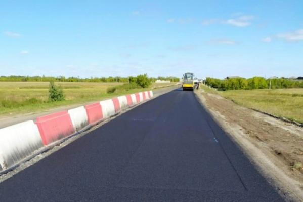 За два года отремонтируют 60 километров трассы